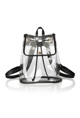 Occasionally Made Clear Stadium Backpack-Black