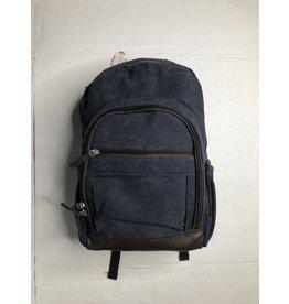 CANVAS Washed Canvas Backpack- Denim Blue