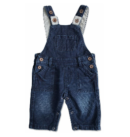 Me & Henry Denim Effect Overalls
