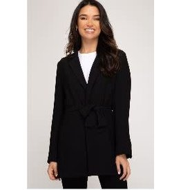 She+Sky Black Long Sleeve Blazer