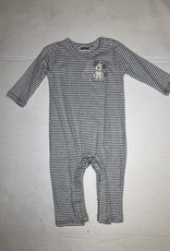 Boys Striped Puppy Longall- 9M