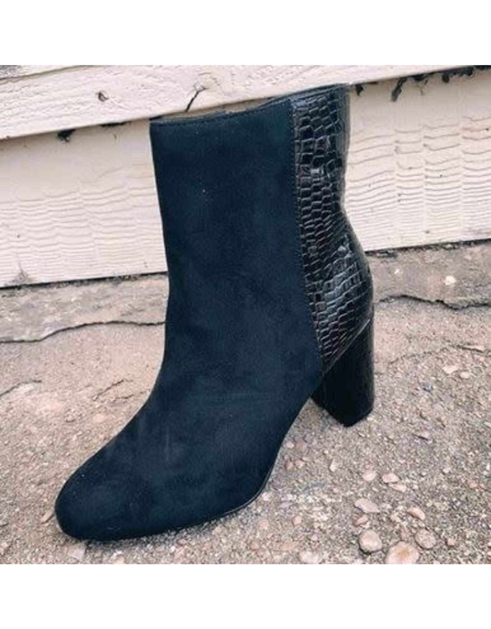 Camel Threads Chilton Black Boot