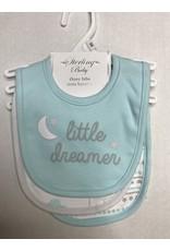 Sterling Baby 3 Piece Little Dreamer Bib Set