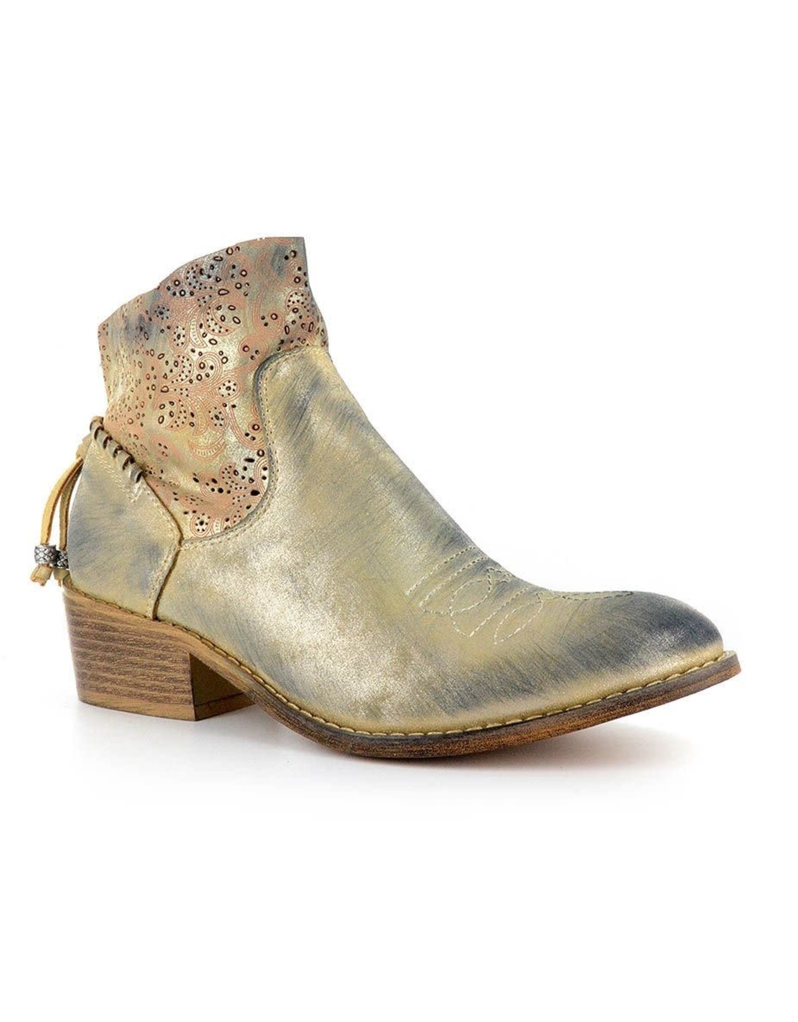 Corky's Dazzling Boot-Gold