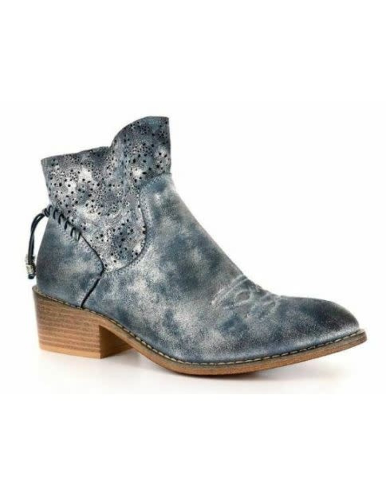 Corky's Dazzling Boot-Blue