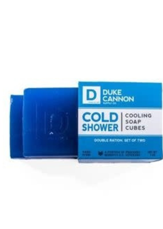 Duke Cannon Supply Co Cold Shower Cooling Soap Cubes