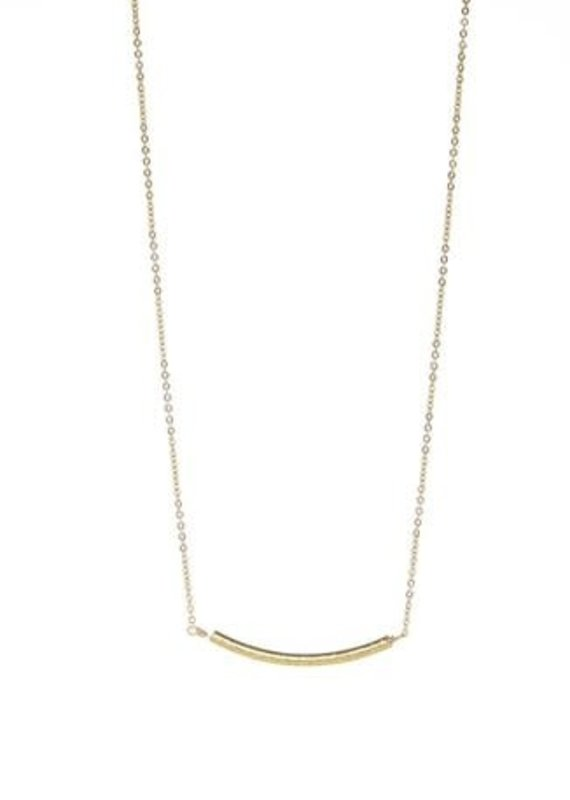 BB Lila Walk the Line Curve Necklace