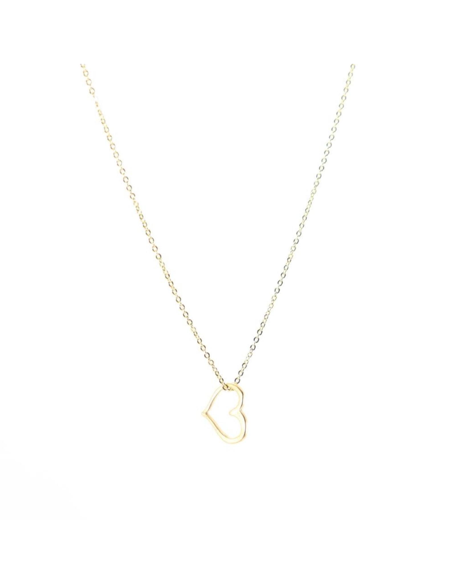 BB Lila Heart N Soul Necklace