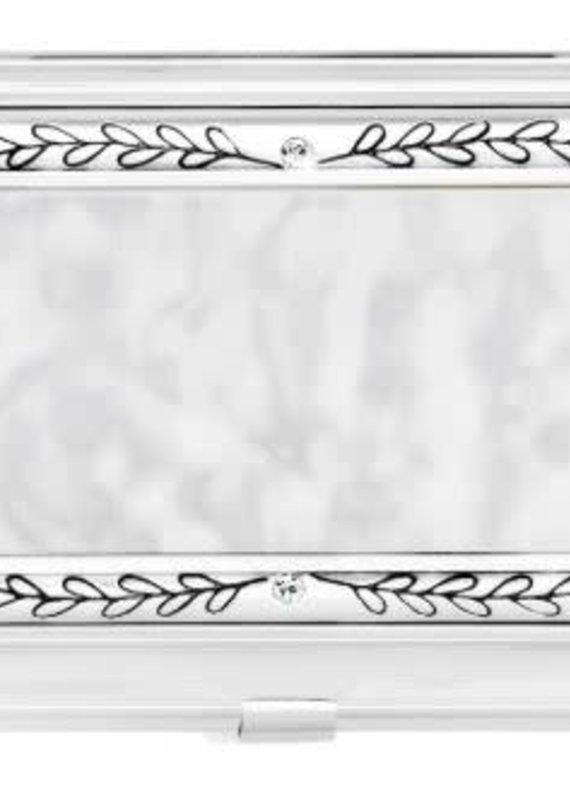 Brighton SIL/STN Tapestry Card Case
