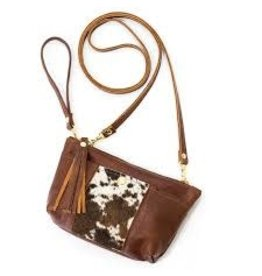 Beaudin Designs Cowhide Bag w Crossbody & Strap