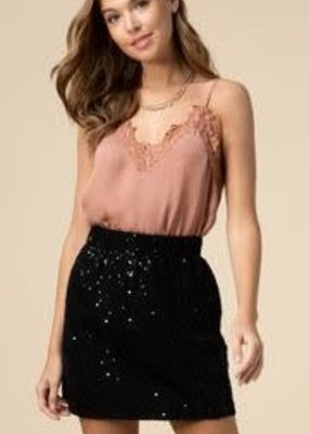 Entro Sequined Skirt