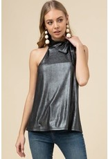 Entro Metallic Sleeveless Top