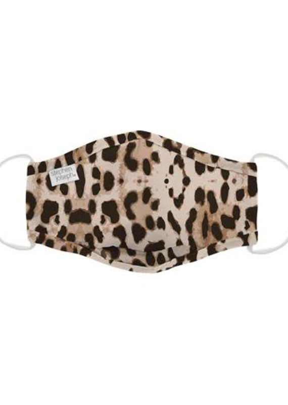 Stephan Joseph Kids Face Mask-Leopard