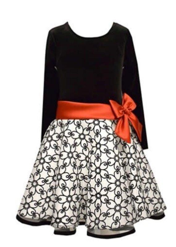Bonnie Jean Sparkle Christmas Dress