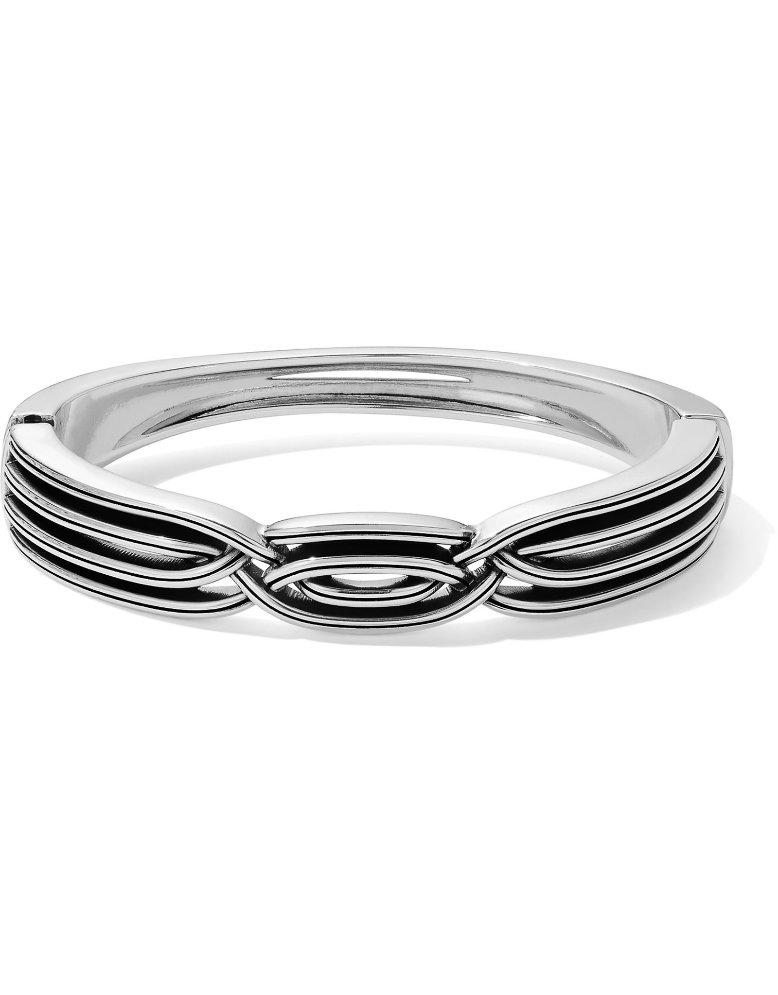 Brighton Intertwine Hinged Bangle