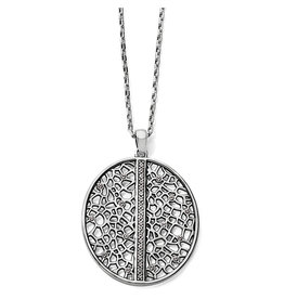 Brighton Fiji Sparkle Silver Convertible Necklace