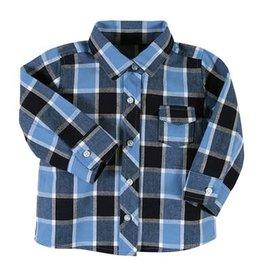 Stephan Baby Plaid Flannel Shirt 6-12M