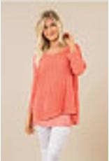 Simply Noelle Breathe Easy Sweater Top