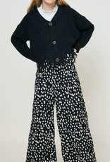 Hayden Los Angeles Dotted Wide Leg Pant S