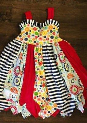 Banana Split Sunburst Avery Dress