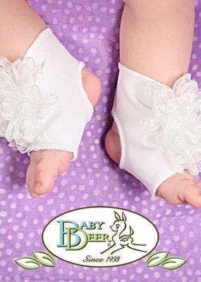 Baby Deer Peep Toe Sock