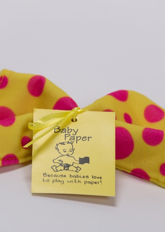 Baby Paper Baby Paper-Yellow Dots