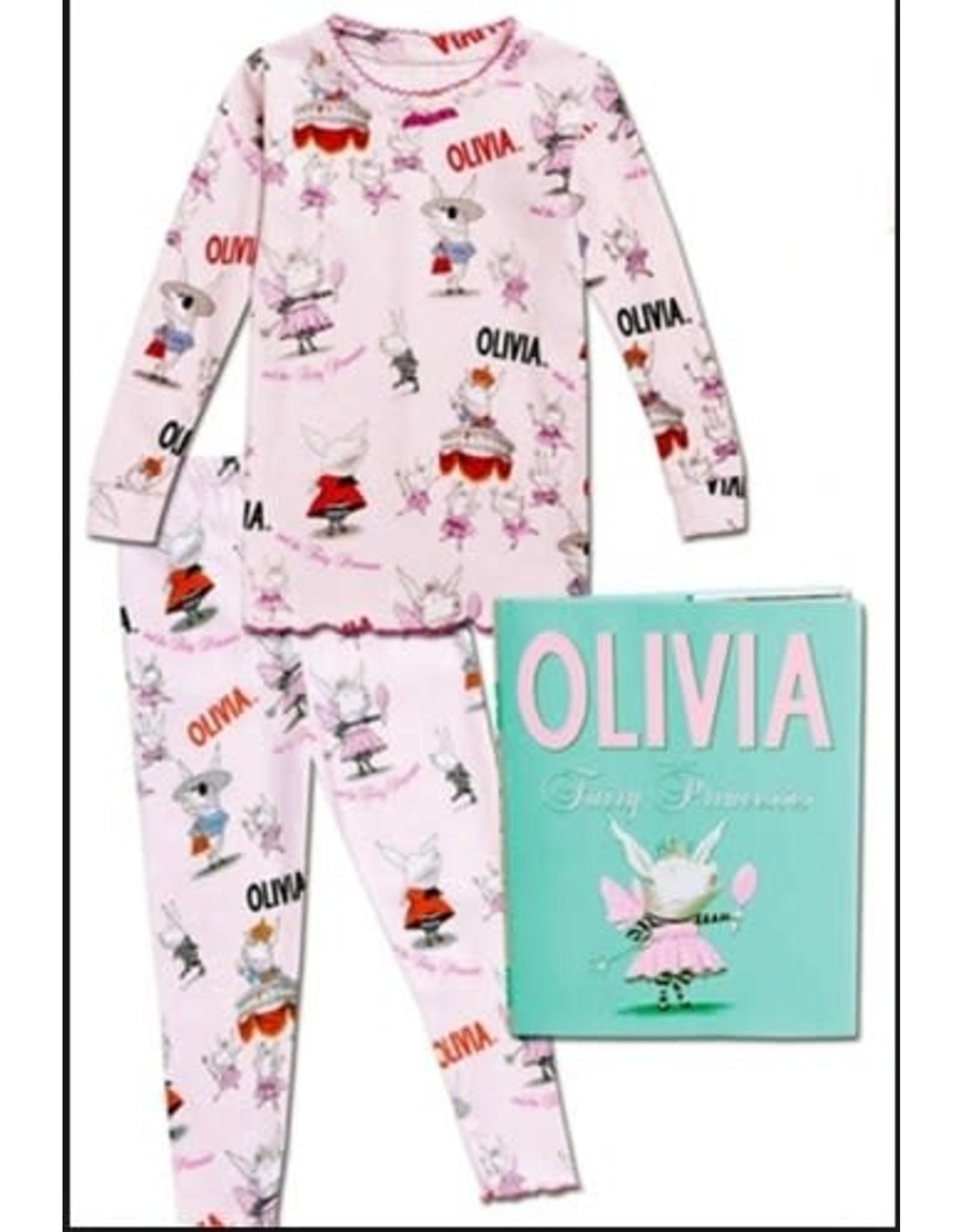 Books To Bed Olivia Pajama Set Size 6