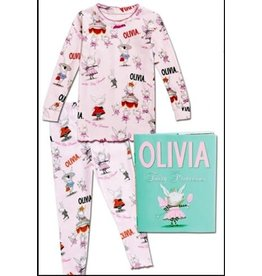 Books To Bed Olivia Pajama Set Size 6
