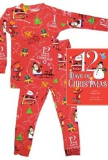 Books To Bed 12 Days Pajama Set- 6