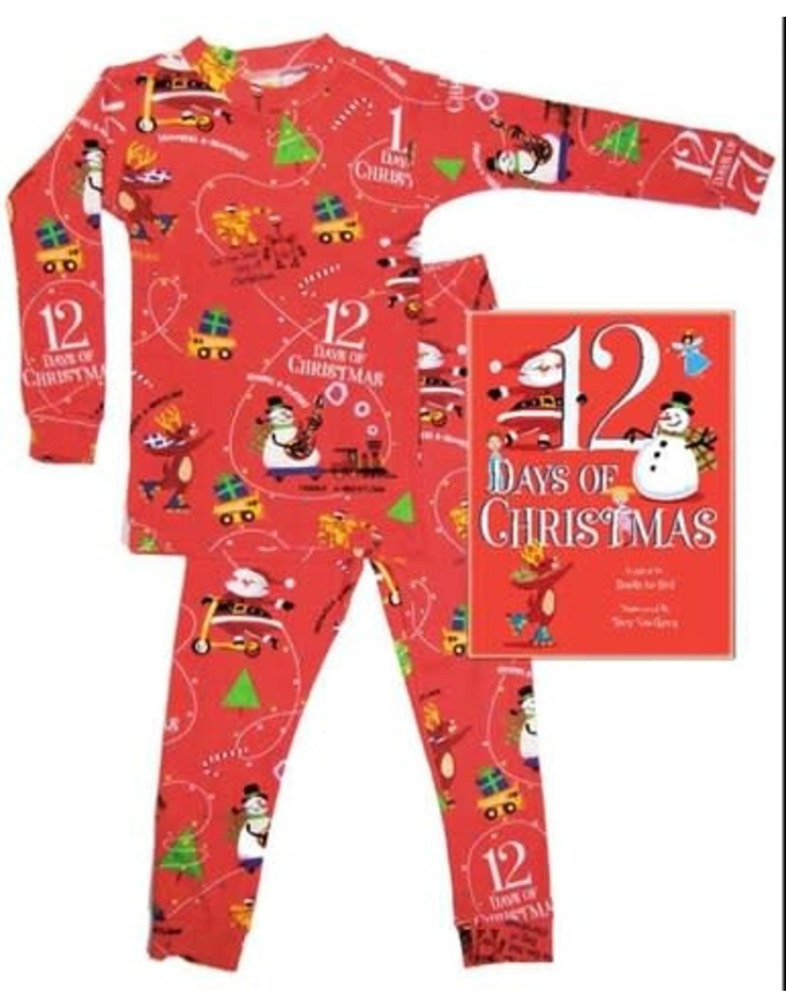 Books To Bed 12 Days Pajama Set- 6