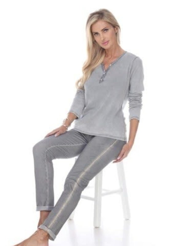 Flora Ashley Grey Pants