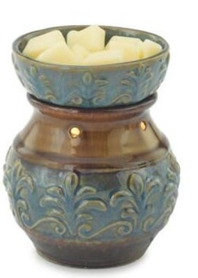 Candle Warmers Round Illumination Fluer De Lis