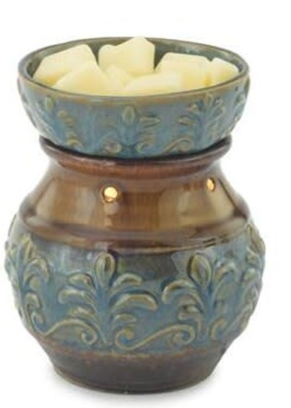 Candle Warmers Round Illumination Fluer De Lis