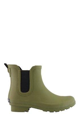 Roma Boot Chelsea Rain Boot-Olive