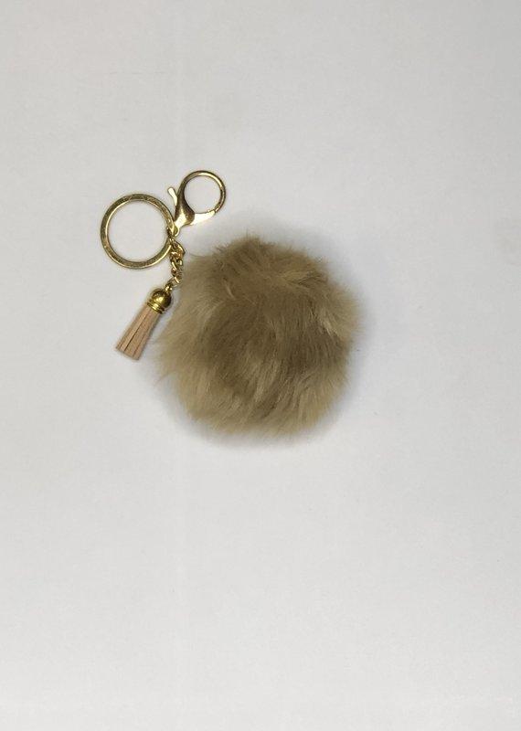 DM Merchandising Fur Chain-Tan