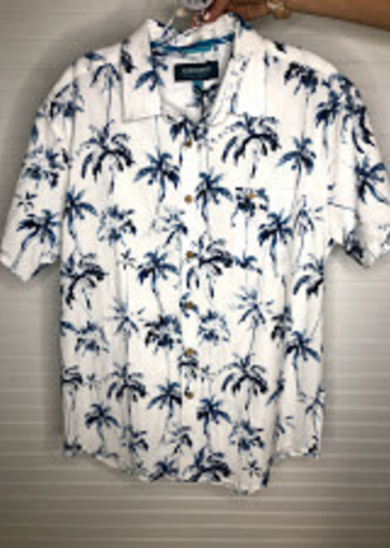 Island Haze Island Haze White Palm Shirt