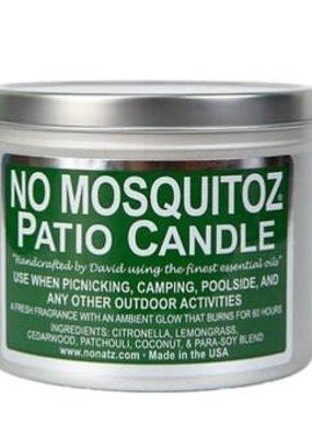 No Natz Inc No Mosquitoz Tin Candle