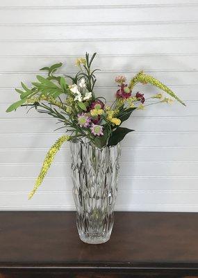 """FJ WHalen Quartz Vase 11"""""""