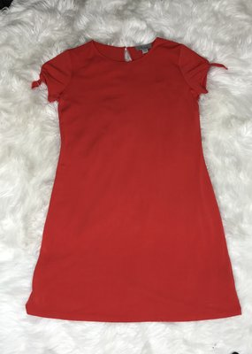 GiftCraft Inc. Solid Dress-Red