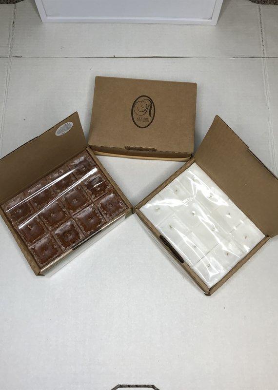 Allure Home Fragrance Cubed Candle 35hr-Amber & Honey