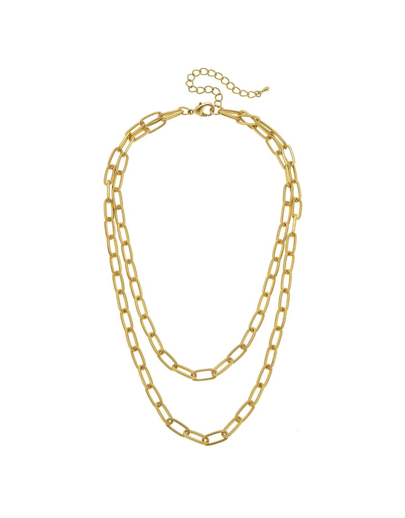CANVAS Capucine Layered Chain Necklace