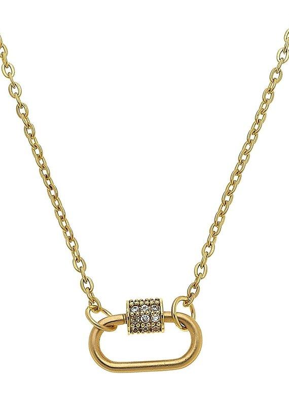 CANVAS Leela Oval Screw Lock Necklace