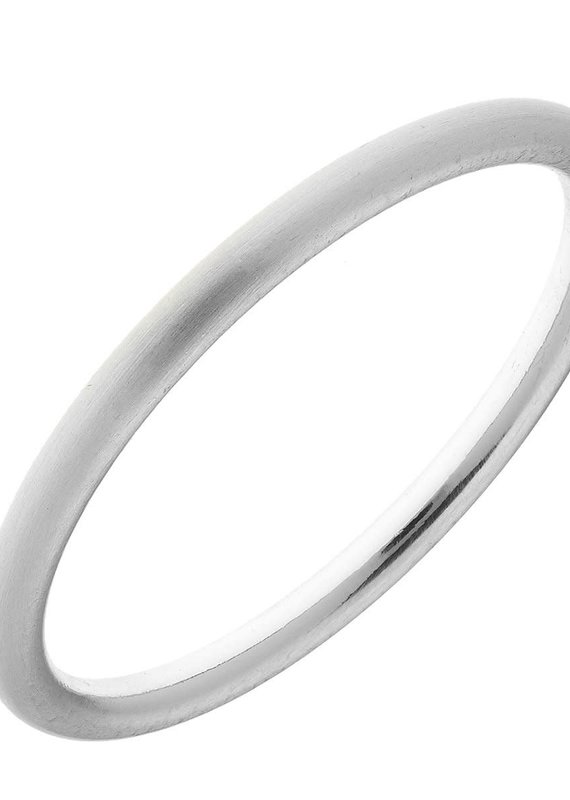 CANVAS Arabella Bangle-Silver
