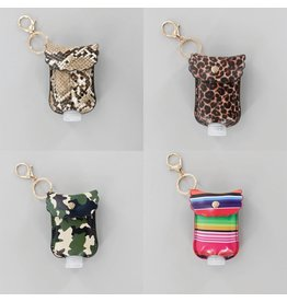 Accent Accessories Patterned Hand Sanitizer Holder
