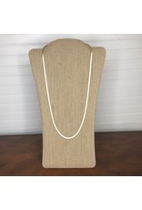 CANVAS Natalie Herringbone Necklace-30""