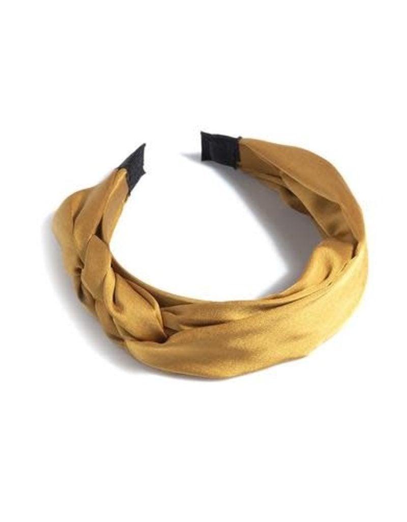 ShiraLeah Braided Headband-Gold