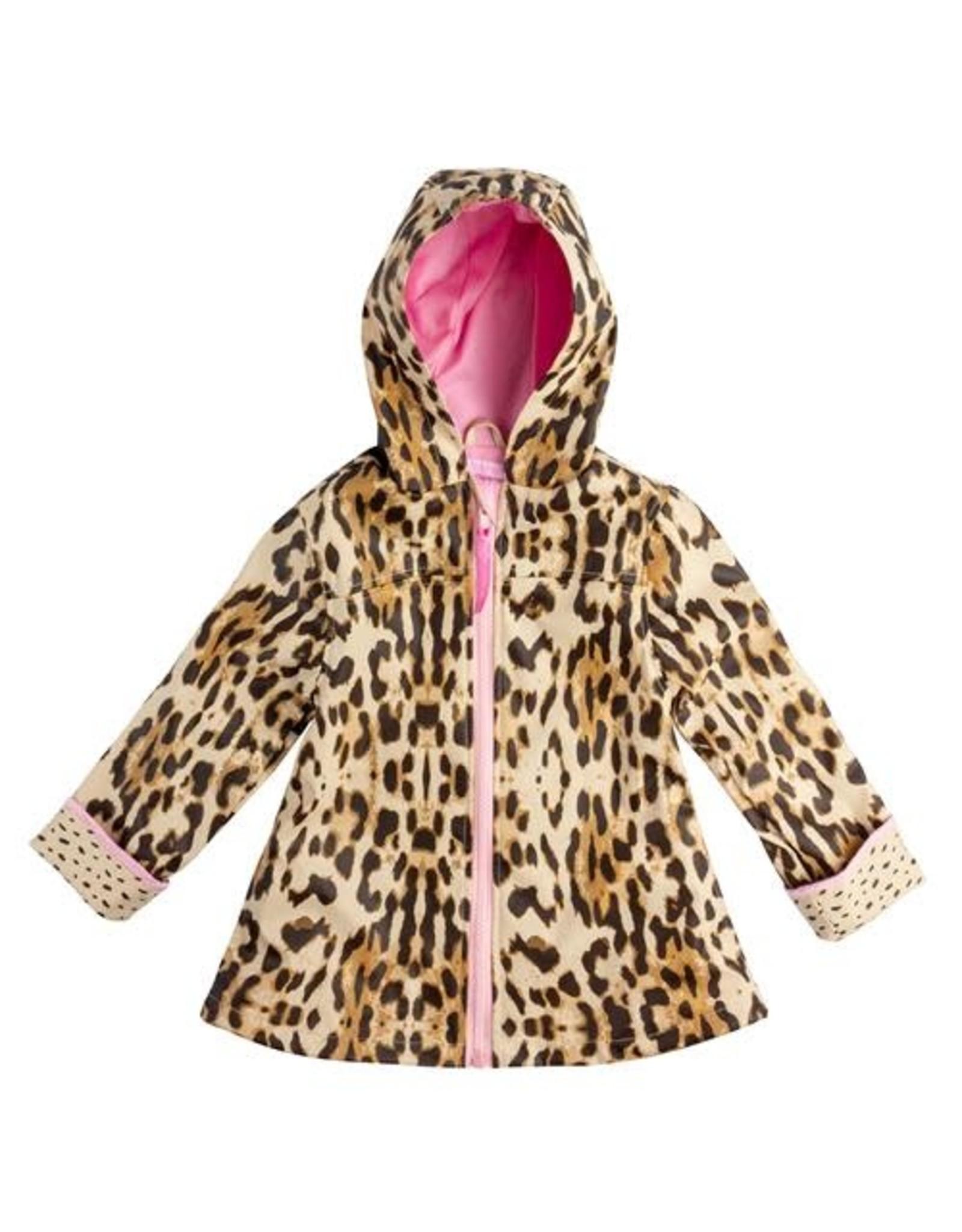 Stephan Joseph Leopard Raincoat