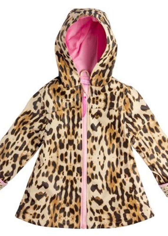 Stephen Joseph Leopard Raincoat