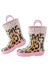 Stephen Joseph Leopard Rain Boots