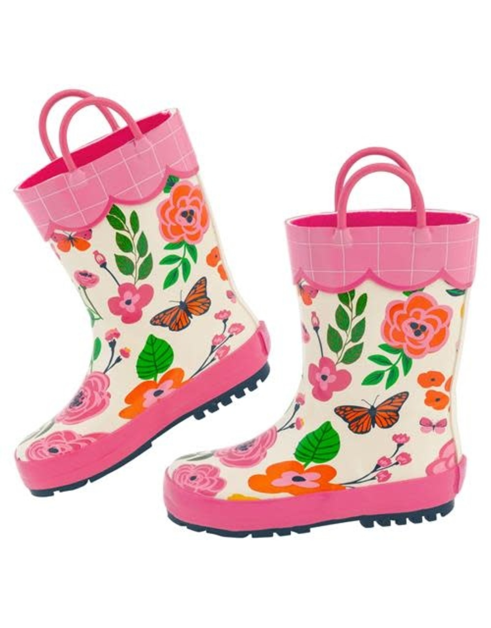 Stephen Joseph Butterfly Rain Boots